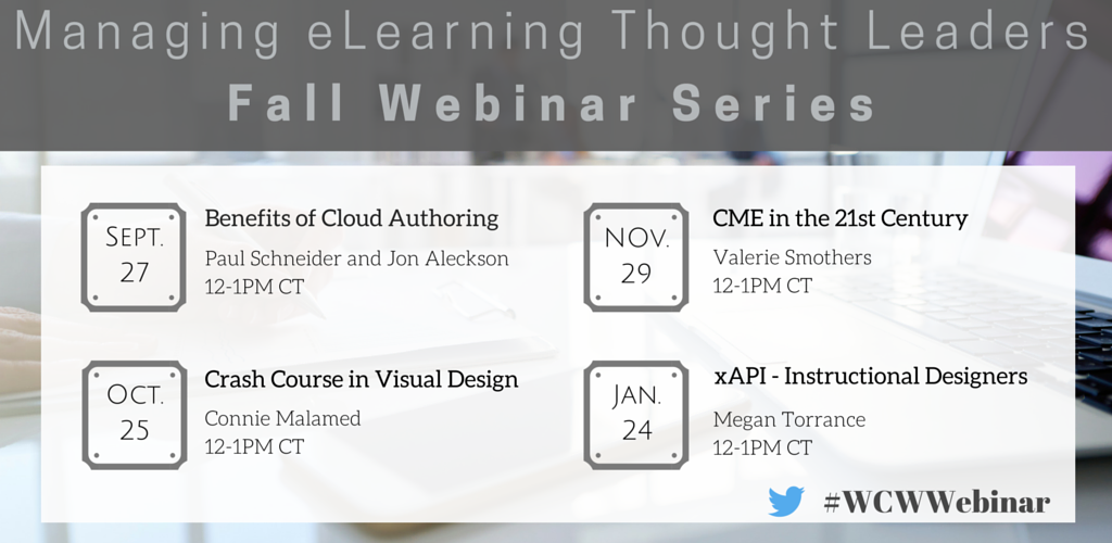 webinar series elearning