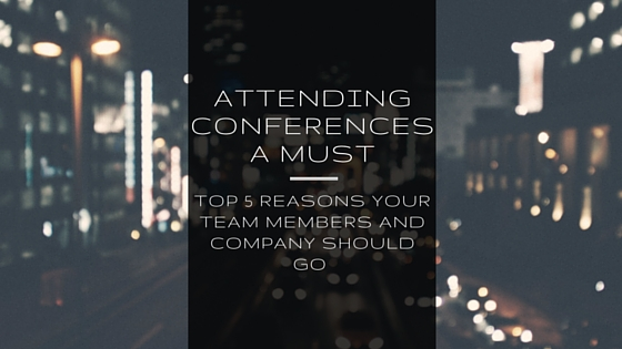 Attending Conferences - Title