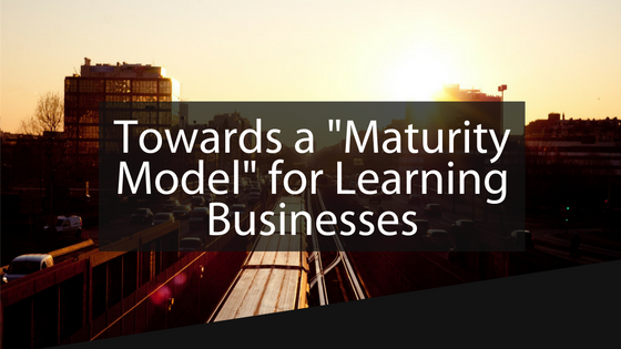 Tagoras Learning Business Maturity Model