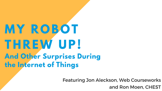 My Robot Threw Up! - Web Courseworks