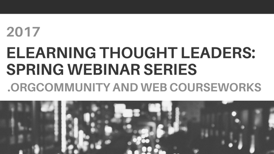 eLearning Thought Leaders Webinars