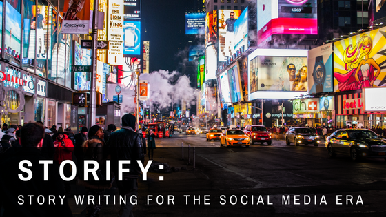 story writing in social media