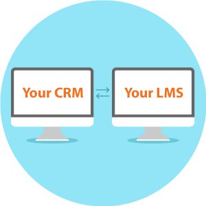 Look for a channel partner LMS that integrates with your CRM and other systems.