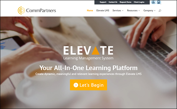 Elevate by CommPartners is a great LMS software for associations.