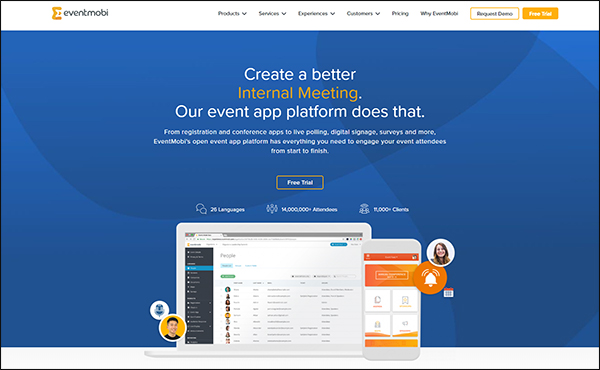 EventMobi is a great event management software for associations.