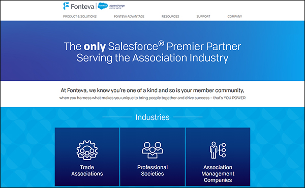 Fonteva is an excellent AMS software for associations.