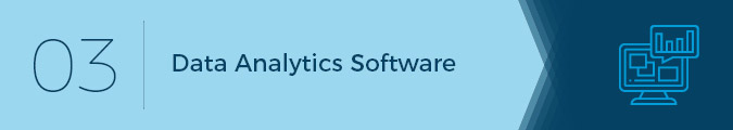 Data analytics software is an important software solution for associations.
