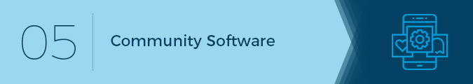Community software is an important software solution for associations.