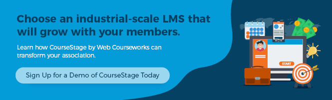 Sign up for a demo of CourseStage software for associations today!