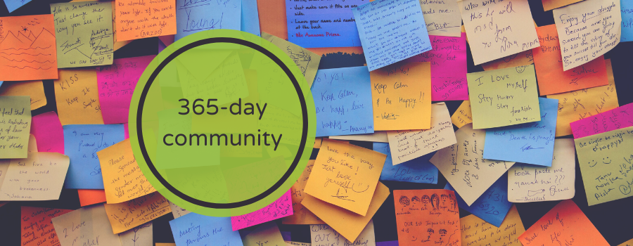 Build a 365-day community with your hybrid event.