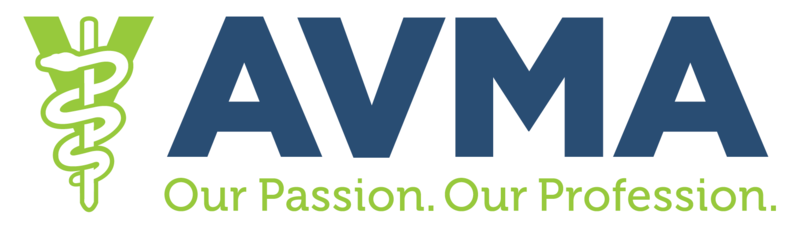 This image is the AVMA logo.