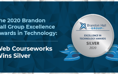 Web Courseworks Wins Silver for Excellence in Technology