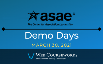 ASAE Demo Days