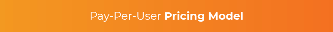 This section discusses the pay-per-user eLearning pricing model.