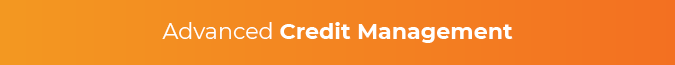 In your CME LMS, seek advanced credit management.